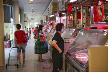 People should wear a mask when going to the market or they will be turned away, says NEA