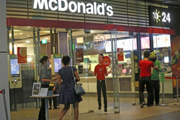 McDonald's Singapore suspends all restaurant operations including delivery and takeaway until May 4