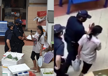 Woman who brazenly flouted CB rules, filmed police in market fined $300