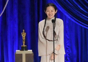 Chloe Zhao makes history with Best Director win at Oscars