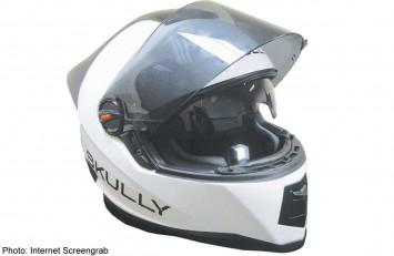 The smartest motorcycle helmet yet