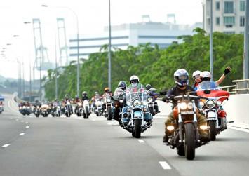 A brotherhood of bikers