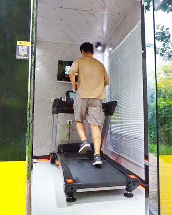 Mini-gyms spring up in China to offer quick and convenient access to exercise