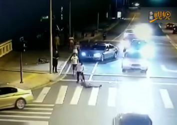 1 killed, 1 injured in China knife attack caused by road rage