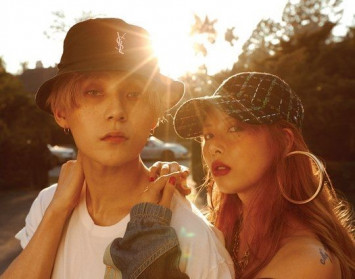 HyunA confirms 2-year relationship with E'Dawn