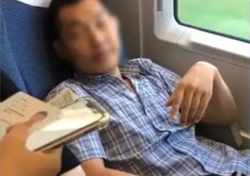 Chinese man who snatched seat of woman banned from train travel