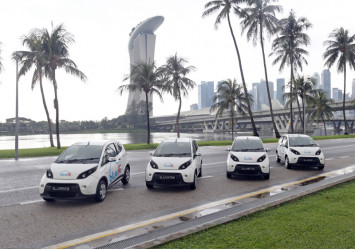 Charging power still a chicken-and-egg gripe for electric fleets in Singapore