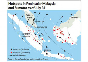 Singapore could get slight haze in next few days; NEA starts ... on world wind direction, global wind direction, south wind direction, ukraine wind direction, bali wind direction, oahu wind direction, northern hemisphere wind direction, offshore wind direction, bangalore wind direction, san francisco wind direction,