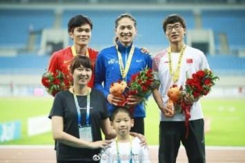 Women's 400m runners go viral on Chinese social media 'for looking like men'