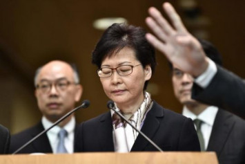 Hong Kong leader Carrie Lam grilled at press conference