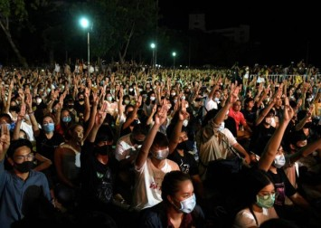 Thai PM 'concerned' after student protest new demands on monarchy