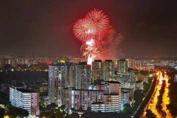 How Singaporeans marked the country's first socially distanced National Day in the heartlands