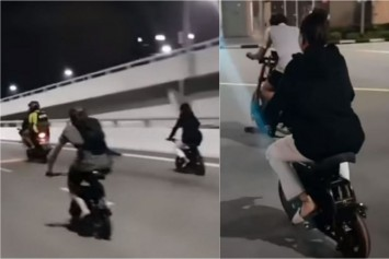 10 arrested for riding PMDs, e-bikes dangerously along Sheares Avenue