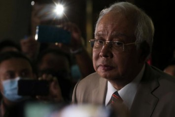 'What's to be ashamed of?' Malaysia's Najib back on the stump despite graft conviction