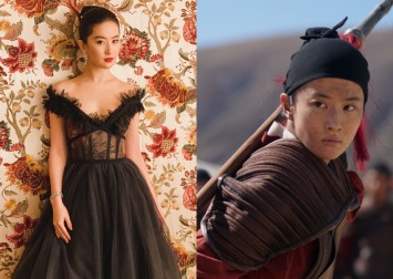 Liu Yifei on playing Mulan: The men treat me like 'one of the guys'