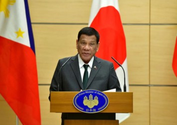 Philippines' Duterte agrees to run for vice-president in 2022