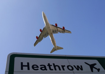 London's Heathrow airport halts departures after drone is sighted, sparking police investigation