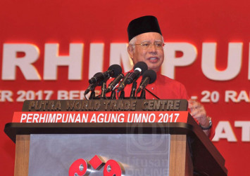 Najib: Mahathir is the one who has forgotten his roots