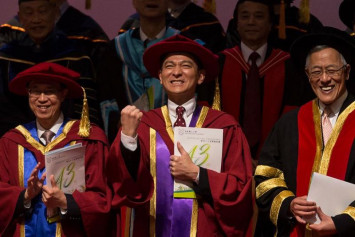 Andy Lau awarded honorary doctorate by HK university, says 'I didn't know I've done so much!'