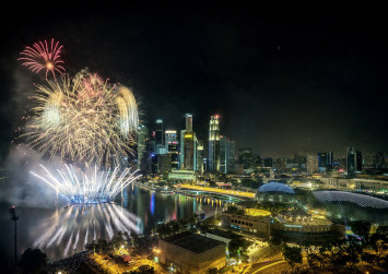 Best places to catch New Year's Eve fireworks for free