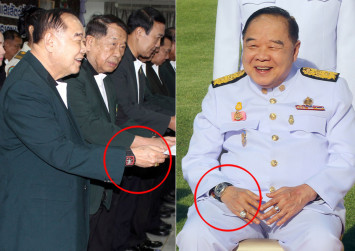Tick, tock; calls grow for Thai deputy pm to quit over watch scandal