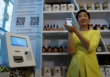 Singapore cryptocurrency cafe launches as regulators sound warnings