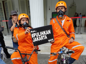 Citizens to sue govt for 'doing nothing' about Jakarta's air pollution