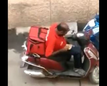 Delivery man in India fired for eating food out of customers' boxed orders