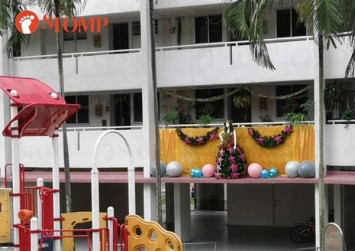 Clementi resident asked to scale down Christmas decorations and shift them to safer place