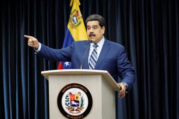 Maduro accuses U.S. official of plotting Venezuela invasion, gives no evidence