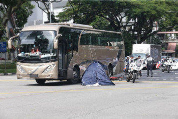 67-year-old cyclist killed in accident with bus at Jalan Bukit Merah junction