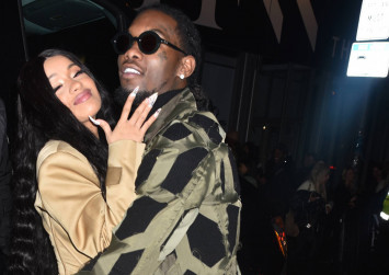 Offset crashes Cardi B's concert with apology
