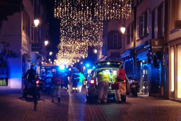 At least 4 dead, 11 wounded in French Christmas market shooting