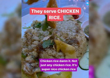 Chicken rice served at wedding banquet takes social media by storm