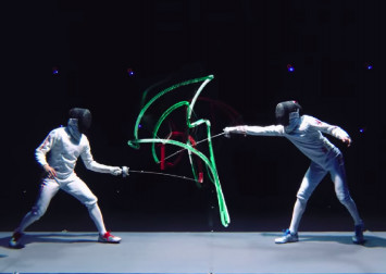 AR technology makes fencing crystal clear for audiences
