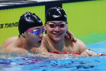 SEA Games: Defending champion Joseph Schooling loses 50m butterfly gold to teammate Teong Tzen Wei