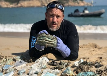 Coronavirus face masks that end up in the sea will take 450 years to degrade, marine conservation group warns