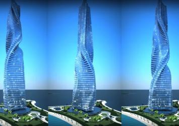 Dubai to build world's first rotating skyscraper