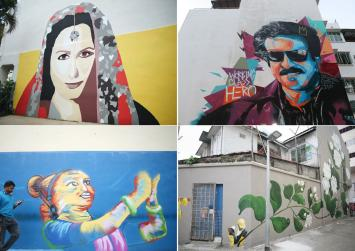 Showcasing Little India's rich heritage with art