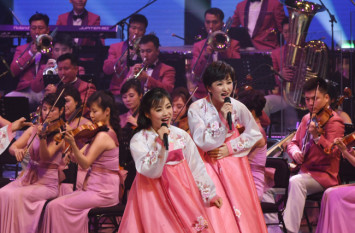 N Korea troupe performs Tchaikovsky, South Korean songs at historical performance