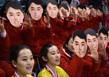 'Kim Il-Sung' mask used during unified Koreas' ice hockey game stirs controversy