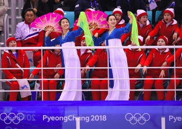 North's 'army of beauties' seduces as Koreans' Olympics debut ends in tears