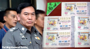 Thai police chief transferred over role in $1.2m lottery scandal
