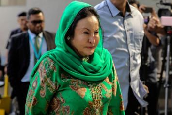 Rosmah hospitalised, confirms lawyer