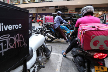 Coronavirus a boon for Deliveroo, Foodpanda as Hong Kong diners opt to eat at home