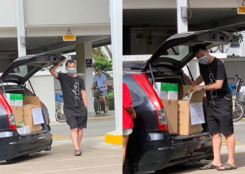 Hoarder outed online for allegedly peddling face masks out of car boot in Jurong