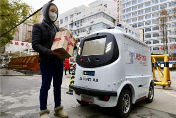 Adorable self-driving robots are delivering medical supplies to healthcare workers in Wuhan