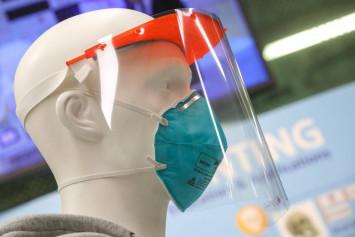 The Polytechnic University lab 3D printing face shields for coronavirus-battling Hong Kong hospital workers