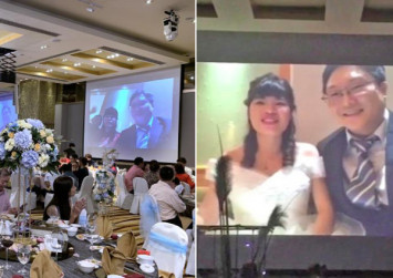 Wuhan virus: Couple in Singapore attends own wedding via live-stream