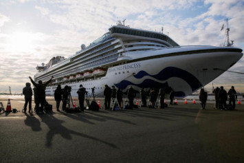 Another 41 on cruise liner off Japan test positive for coronavirus